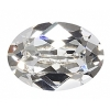Swarovski Stones 4120 Oval 18x13mm Crystal 6Pcs